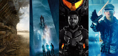 Sci-Fi 2018: Mortal Engines, Maze Runner 3 / Pacific Rim 2, Ready Player One
