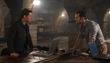 Tom Cruise und Henry Cavill