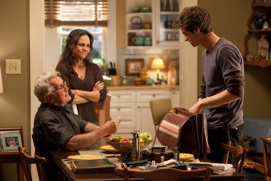 The Amazing Spider-Man mit Andrew Garfield, Martin Sheen und Sally Field