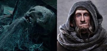 Links: Die Gefährten; rechts: Der Hobbit
