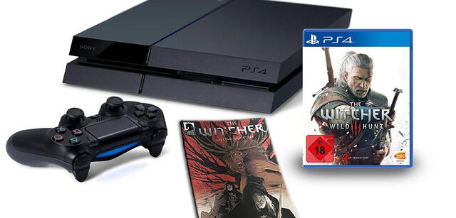 The Witcher 3 im PS4-Bundle
