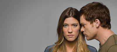 Jennifer Carpenter und Michael C. Hall in Dexter