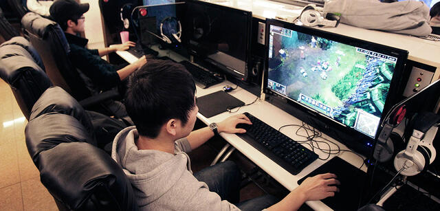 Internet-Cafes sind in Asien sehr beliebt