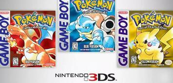 Bild zu:  Pokémon Rot/Blau/Gelb