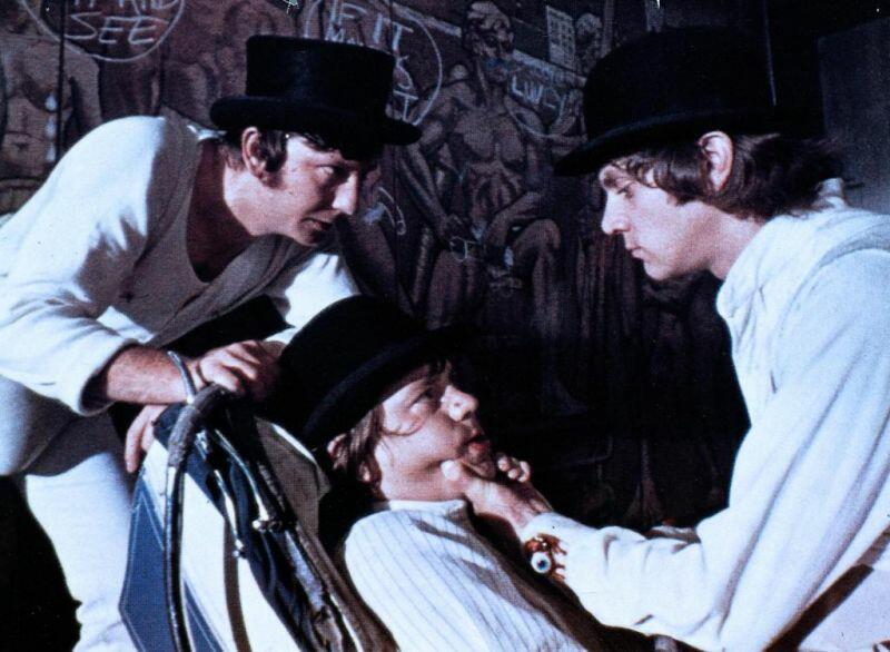 Uhrwerk Orange mit Malcolm McDowell, Warren Clarke und James Marcus