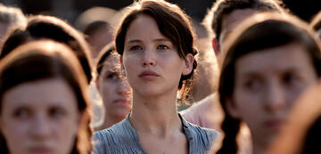 Tribute von Panem: Hunger Games-Hauptfigur Katnis Everdeen (Jennifer Lawrence)
