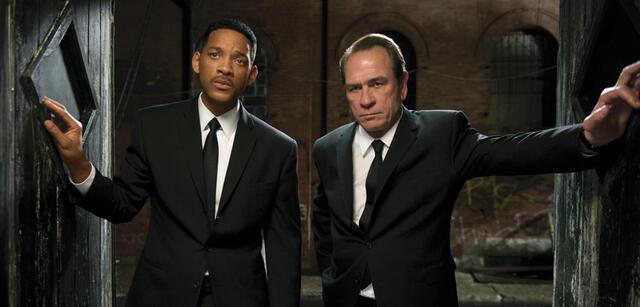 Men in Black 3 mit Will Smith und Tommy Lee Jones