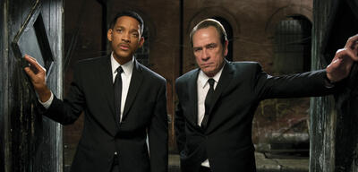 Men in Black 3 mit Will Smith und Tommy Lee Jones