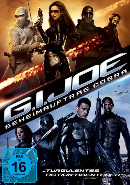 G.I. Joe - Geheimauftrag Cobra mit Channing Tatum, Sienna Miller, Marlon Wayans und Rachel Nichols