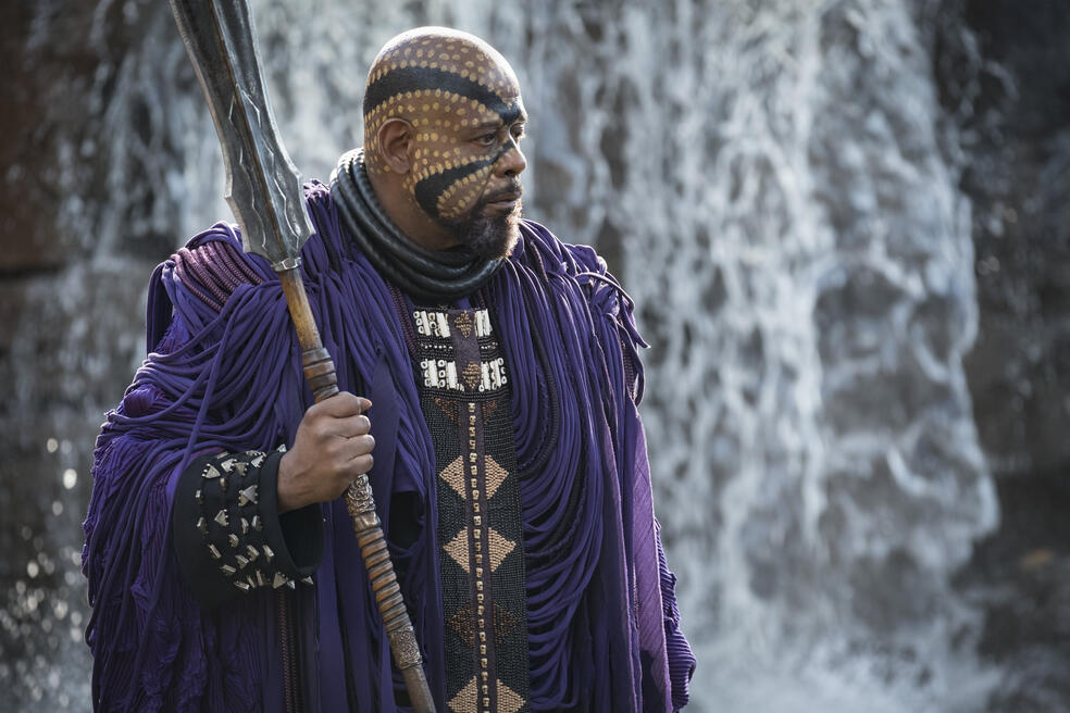 Black Panther mit Forest Whitaker