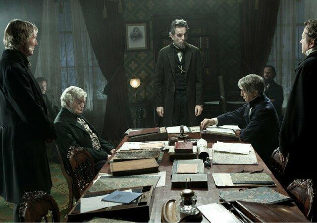 Lincoln mit Daniel Day-Lewis, David Strathairn, Hal Holbrook und Tim Blake Nelson