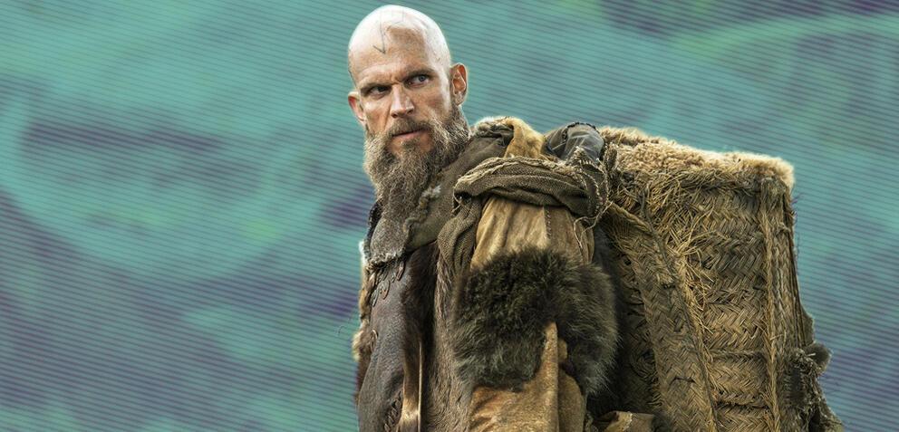 Vikings mit Gustaf Skarsgård