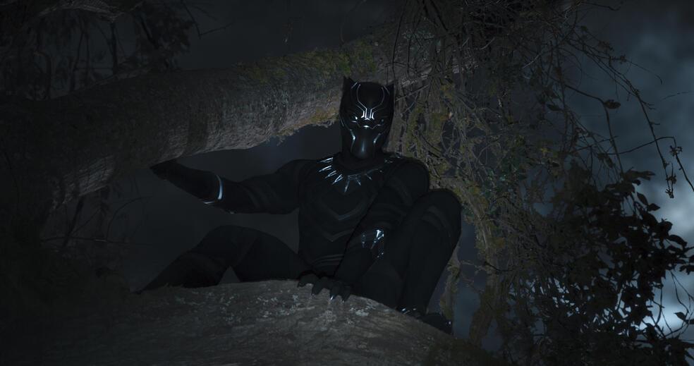 Black Panther mit Chadwick Boseman
