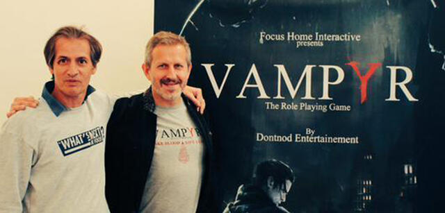 Mit diesem Bild gabFocus Home Interactive Vampyr via Twitter bekannt.