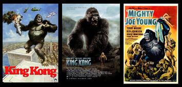 Bild zu:  King Kong 1949 / 1976 / 2005