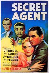 Geheimagent - Poster
