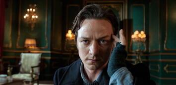Bild zu:  James McAvoy als Professor X mit Haaren