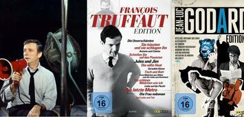 Bild zu:  Truffaut und Godard auf DVD