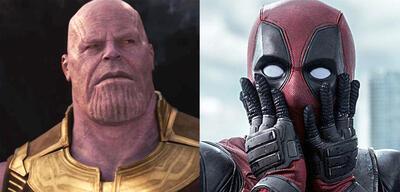 Thanos und Deadpool