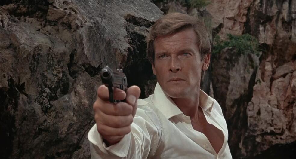 James Bond 007 - Der Mann mit dem goldenen Colt mit Roger Moore