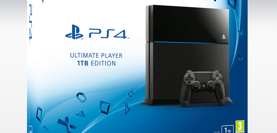 Die Ultimate Player Edition der PS4 ist da