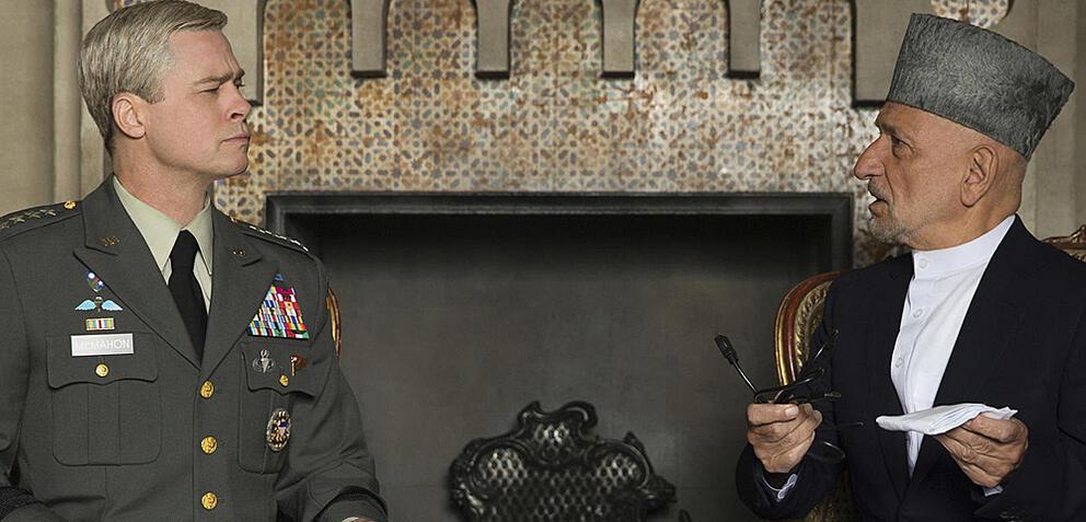 War Machinemit Brad Pitt undBen Kingsley