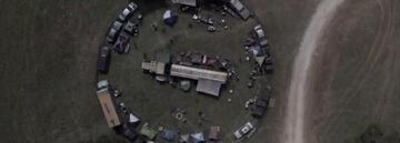 Die Karawane in Fear The Walking Dead