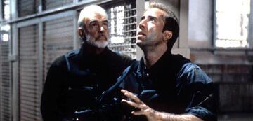 Sean Connery mit Nicolas Cage in The Rock