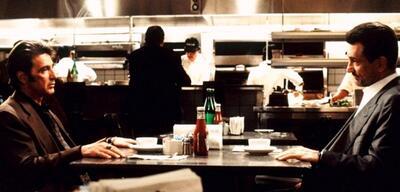 Robert De Niro und Al Pacino vor rund 20 Jahren in Heat