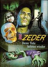 Zeder - Denn Tote kehren wieder - Poster