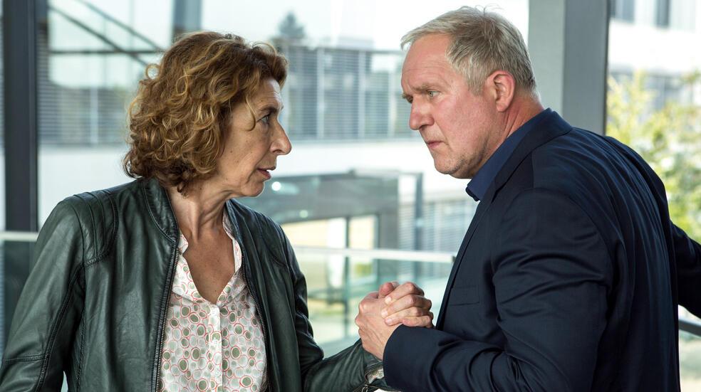 Tatort: Krank mit Harald Krassnitzer und Adele Neuhauser