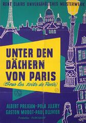 Unter den Dächern von Paris