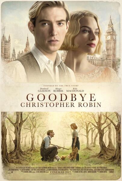 Goodbye Christopher Robin mit Margot Robbie und Domhnall Gleeson