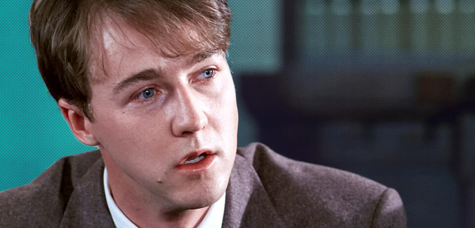 Edward Norton in Zwielicht