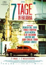 7 Tage in Havanna - Poster