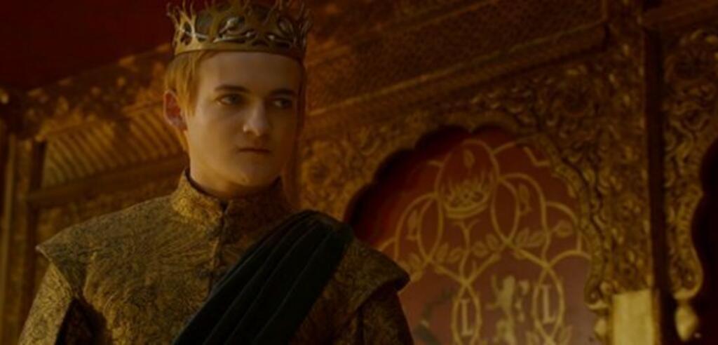 Scheint nicht sonderlich erfreut über die Rekordquoten: Joffrey