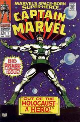 Erster Captain Marvel-Comic