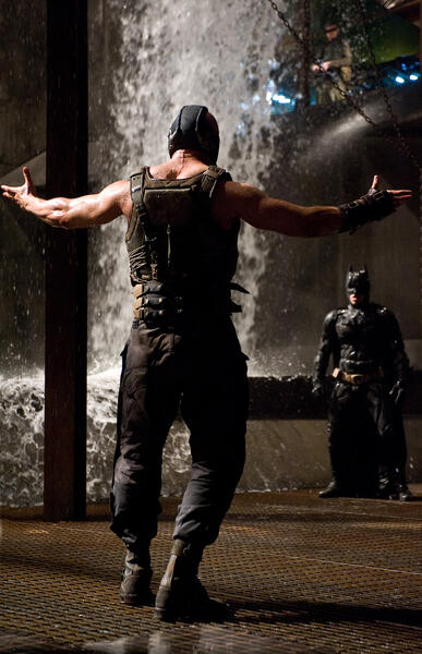 The Dark Knight Rises mit Tom Hardy