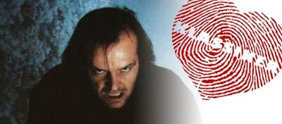 Jack Nicholson in Stanley Kubrick's Shining