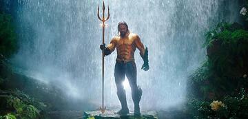 Aquaman in seinem klassischen Kostüm