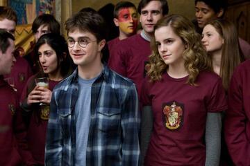 Daniel Radcliffe und Emma Watson in Harry Potter und der Halbblutprinz