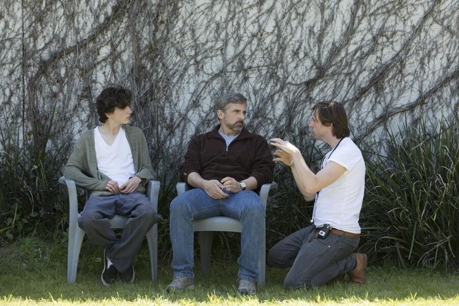 Beautiful Boy mit Steve Carell, Timothée Chalamet und Felix Van Groeningen