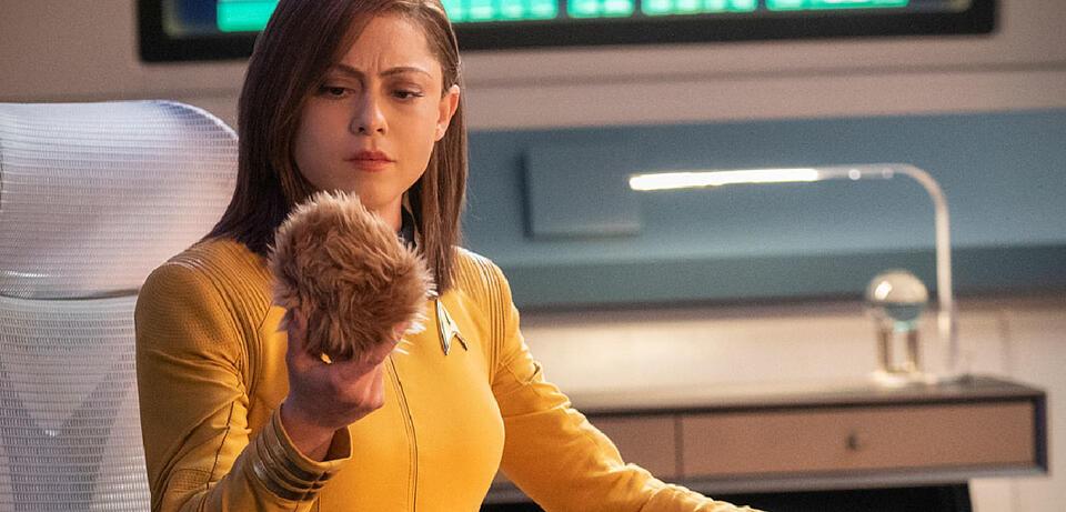Star Trek: Short Treks mit Rosa Salazar und einem Tribble