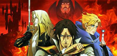 Alucard, Dracula, Trevor und Sypha