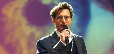 Johnny Depp in Transcendence