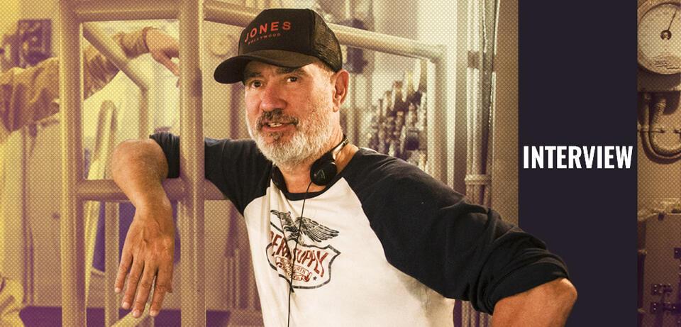 Roland Emmerich am Set von Midway