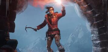 Bild zu:  Lara Croft in Rise of the Tomb Raider