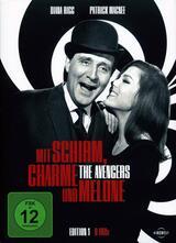 Mit Schirm, Charme und Melone - Poster