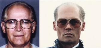 Whitey Bulger und Johnny Depp