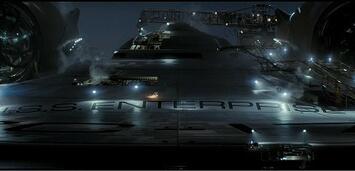 Bild zu:  Die alte, neue Enterprise aus Star Trek (2008)